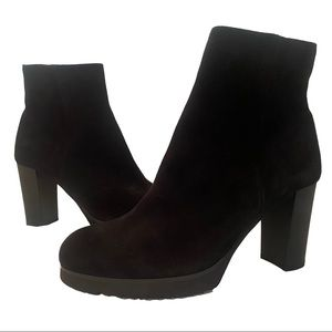 LA CANADIENNE NEW suede heeled waterproof insulated winter boots